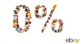 eBay azzera le commissioni nelle categorie alimentari