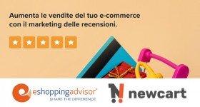 Plugin di Eshopping Advisor per piattaforma e-commerce NewCart.