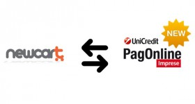 NewCart integra Unicredit PagOnline Imprese