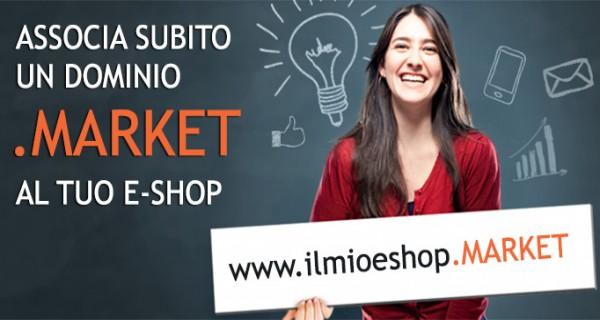 Registrare il tuo sito E-Commerce con dominio .MARKET