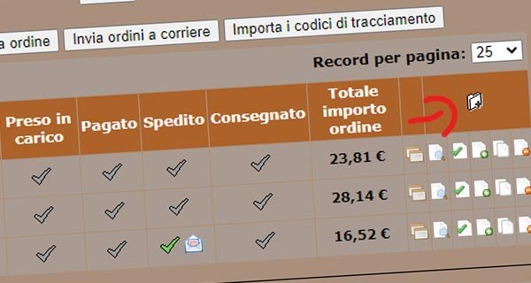 Come modificare un ordine in  NewCart