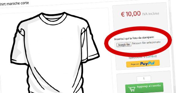 Con NewCart il tuo ecommerce permette ai clienti di personalizzare i gadget che acquistano