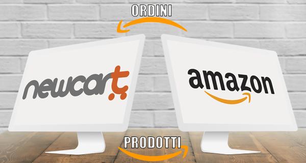 NewCart sincronizza il tuo catalogo con Amazon