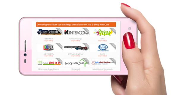 Rivendi i prodotti di più cataloghi Silver sul tuo e-shop NewCart