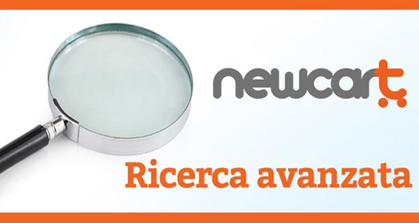 Nuova veste per la ricerca avanzata su NewCart