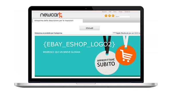 NewCart aggiunge i templates eBay gratis