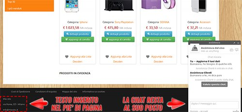come utilizzare una live chat su newcart 30
