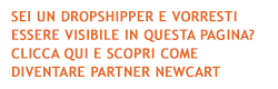Scropri come diventare partner dropshipping newcart