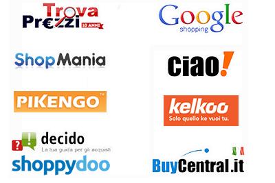 Newcart è integrato con tutti i comparatori di prezzo