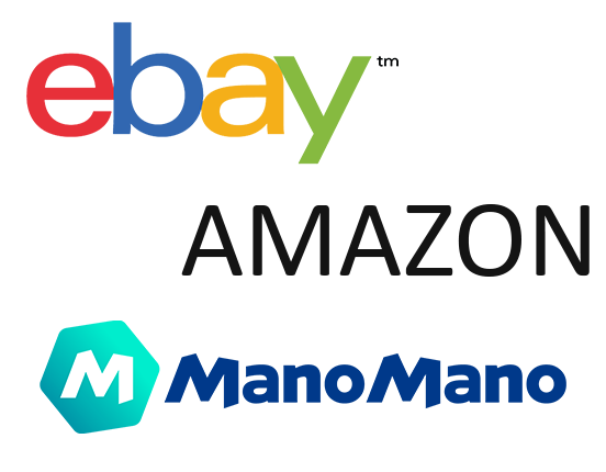 Newcart è già integrato con eBay Amazon ManoMano