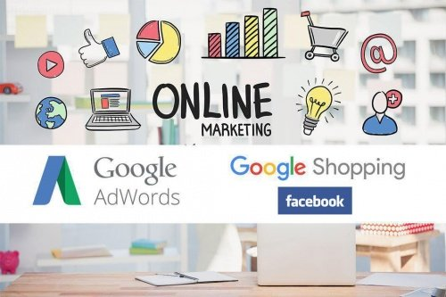 Visibilità su Google AdWords, Google Shopping e Facebook
